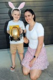Runner Up Under - 8s Conor Doyle  - with Adult Winner - Cushla Doyle
