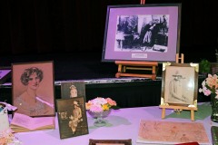 A display of Mabel's favourite things from the 1920's