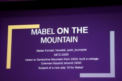Mabel On The Mountain