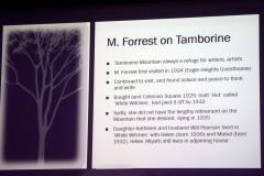 Mabel Forrest on Tamborine