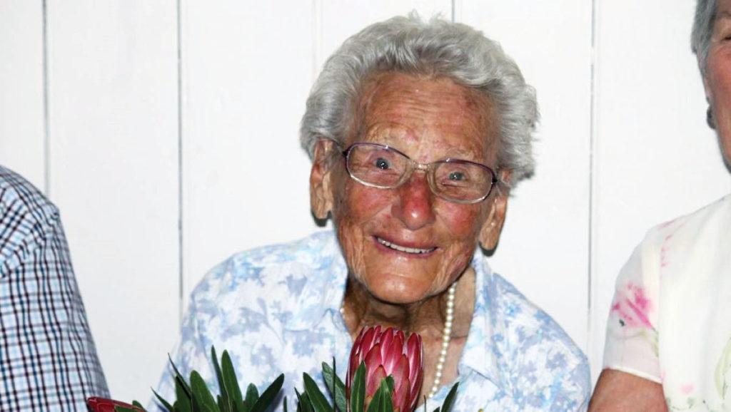 102 year old Josie Arthy