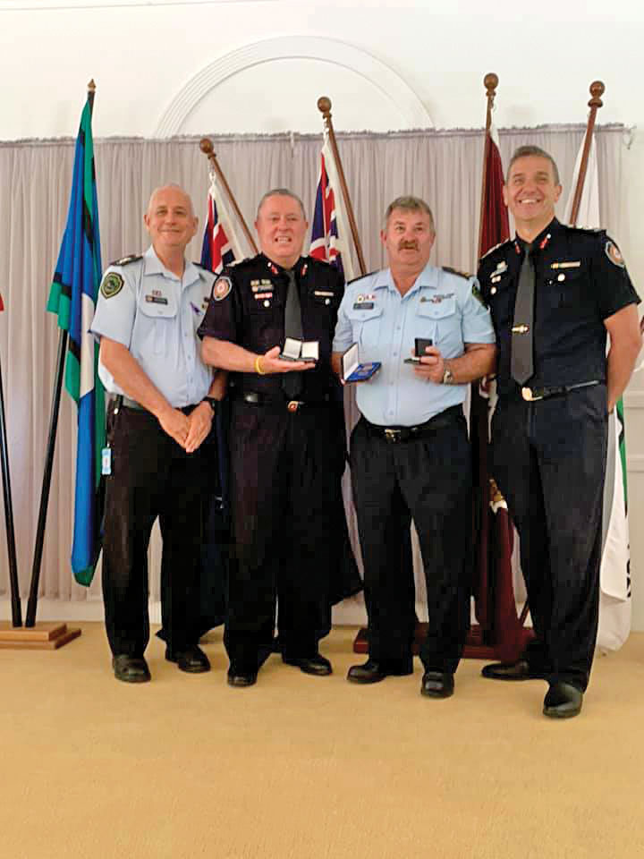 QFES Awards For Local Fire Brigade