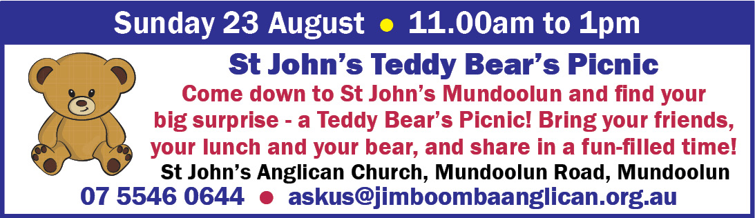 St John's Teddy Bear Picnic