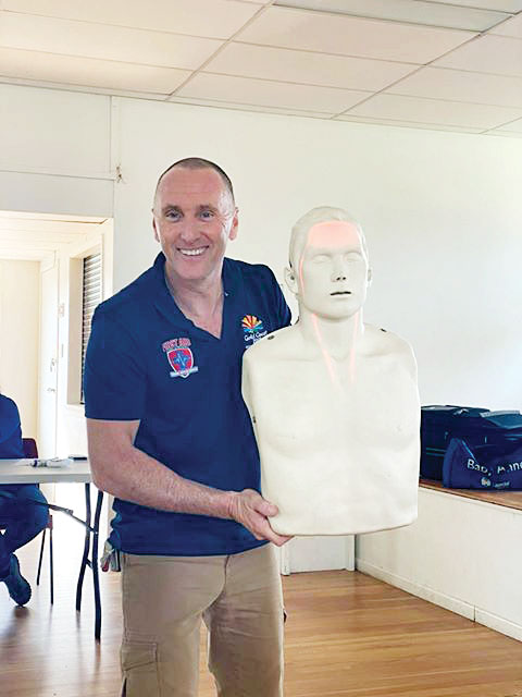 First Aid Course At Hall