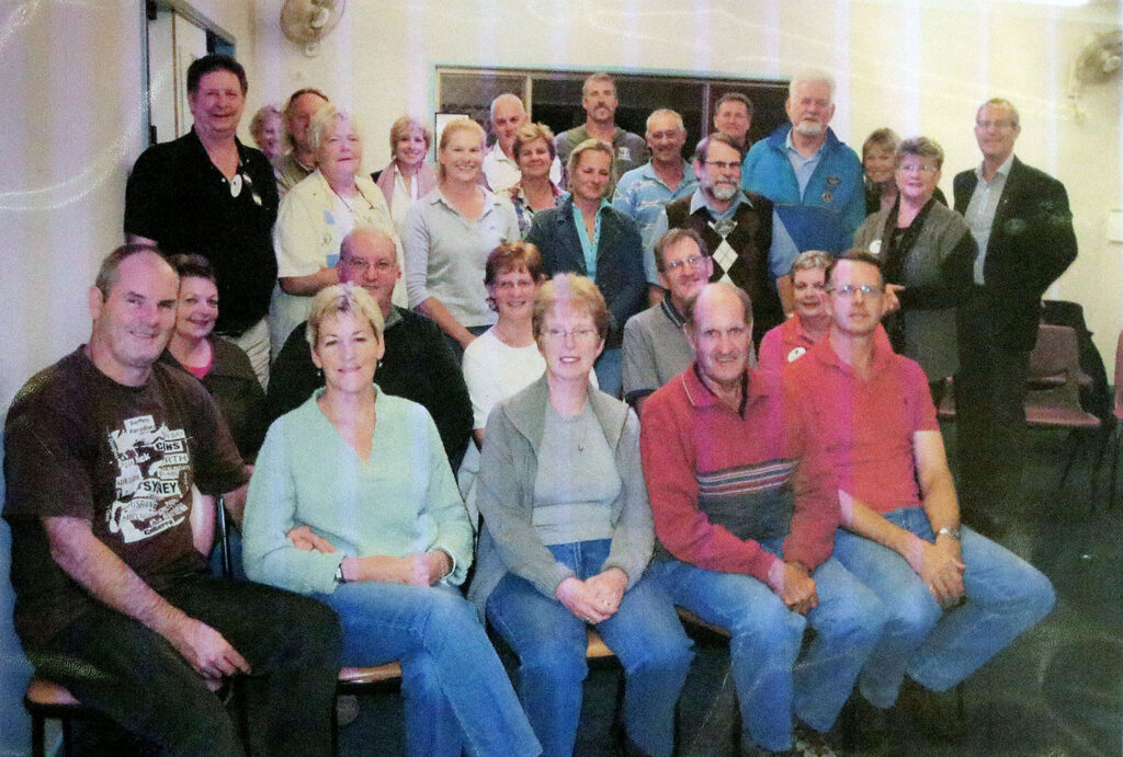 Tamborine Village Lions First Members 2010