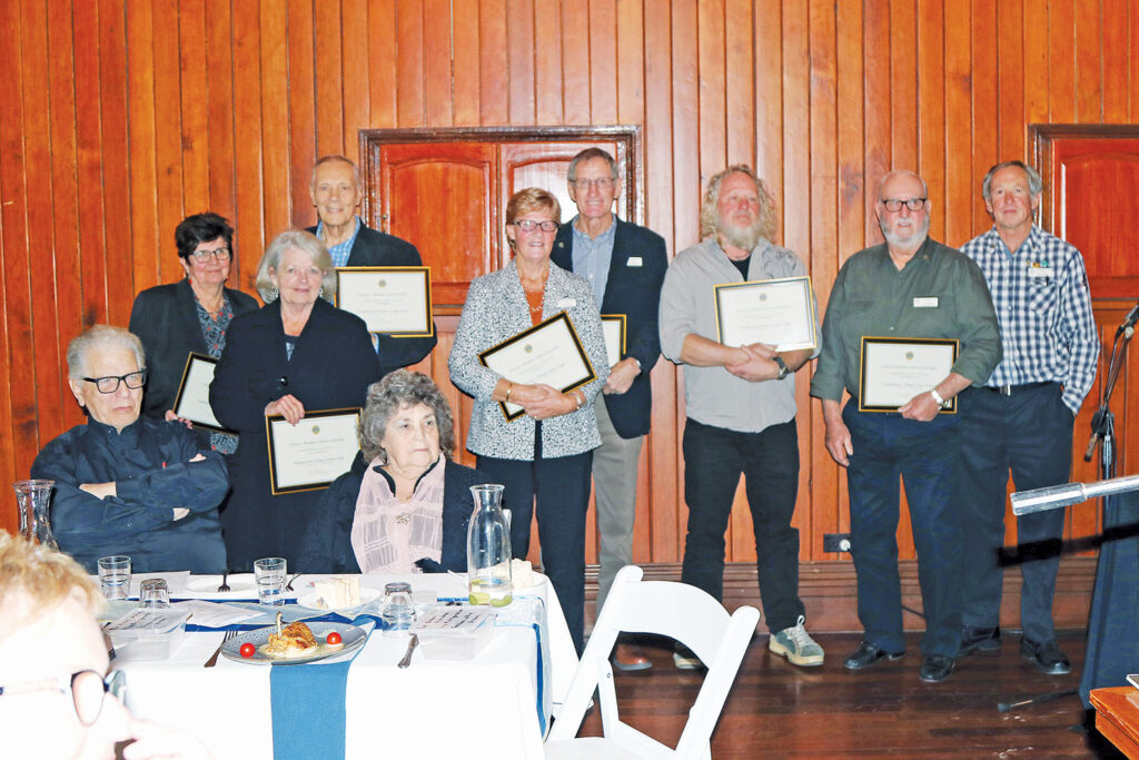 Tamborine Village Lions Club Charter Members