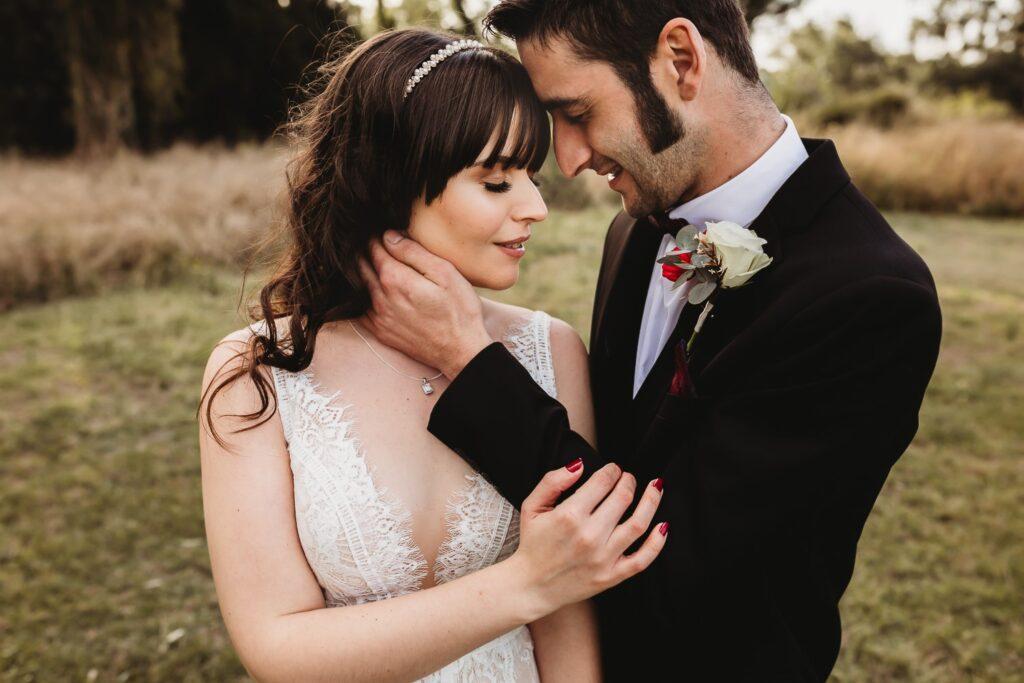 Samantha and Alan's wedding