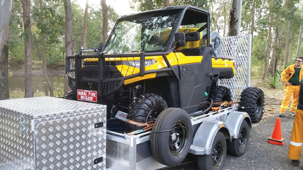 Tamborine Rural Fire Brigade ATV Buggy