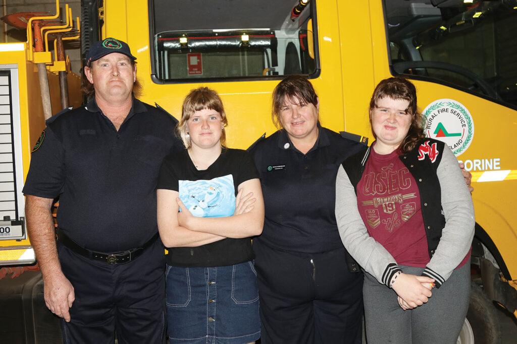 Tamborine Rural Fire Brigade - new recruit