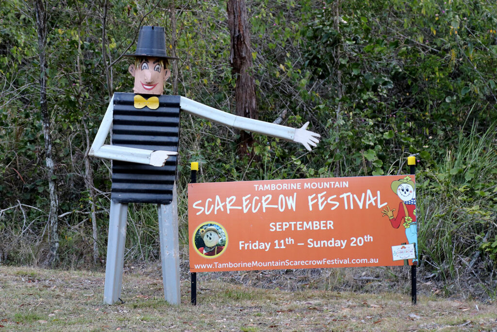 Scarecrow Festival Sign