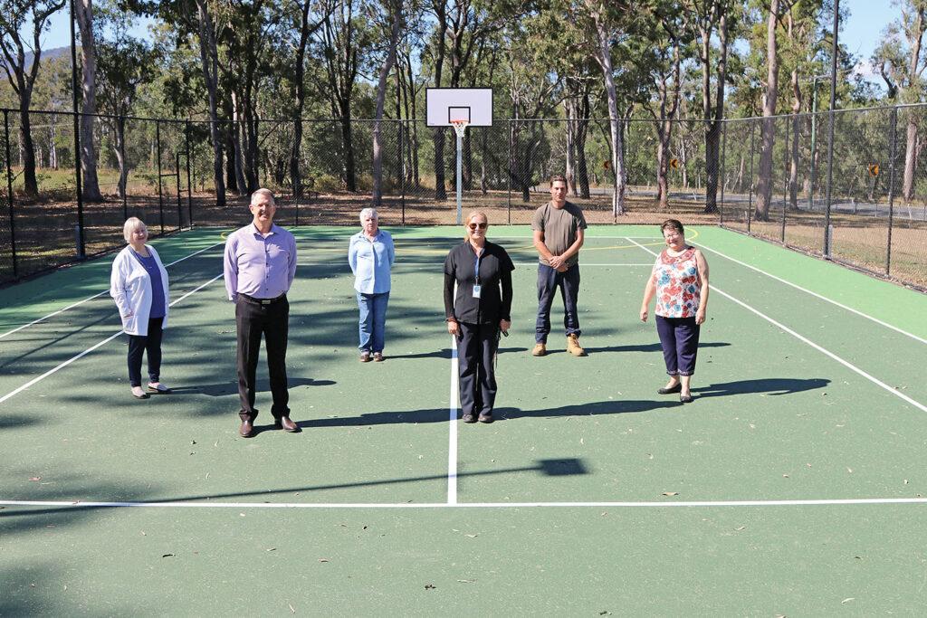 Tamborine Memorial Hall Resurfaced Tennis Courts
