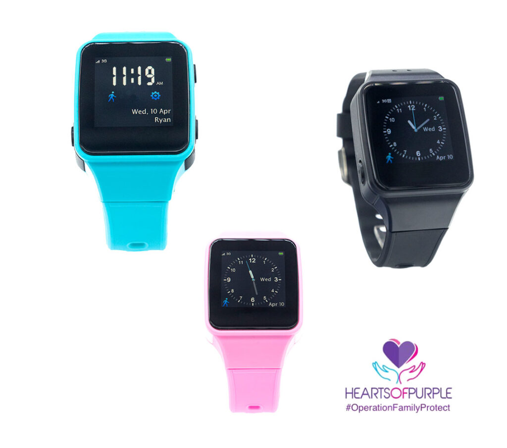 Hearts Of Purple High Risk DV Watches