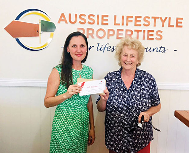 Winner - Nina Worsley (Canungra)