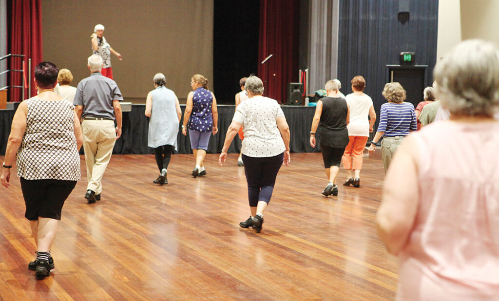 U3A Line Dancing at The Centre