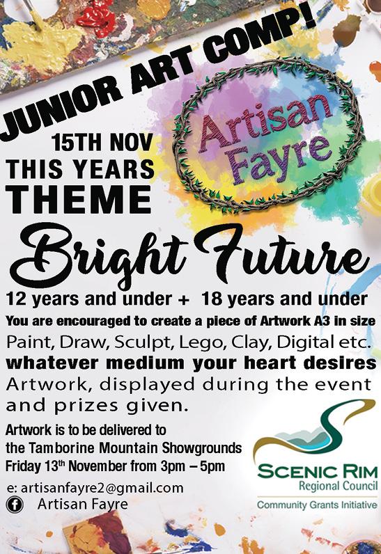 Artisan Fayre 2020 Junior Art Comp