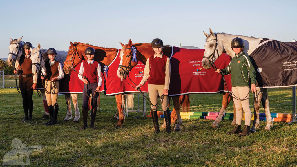 One Day Event Competition Rug Winners