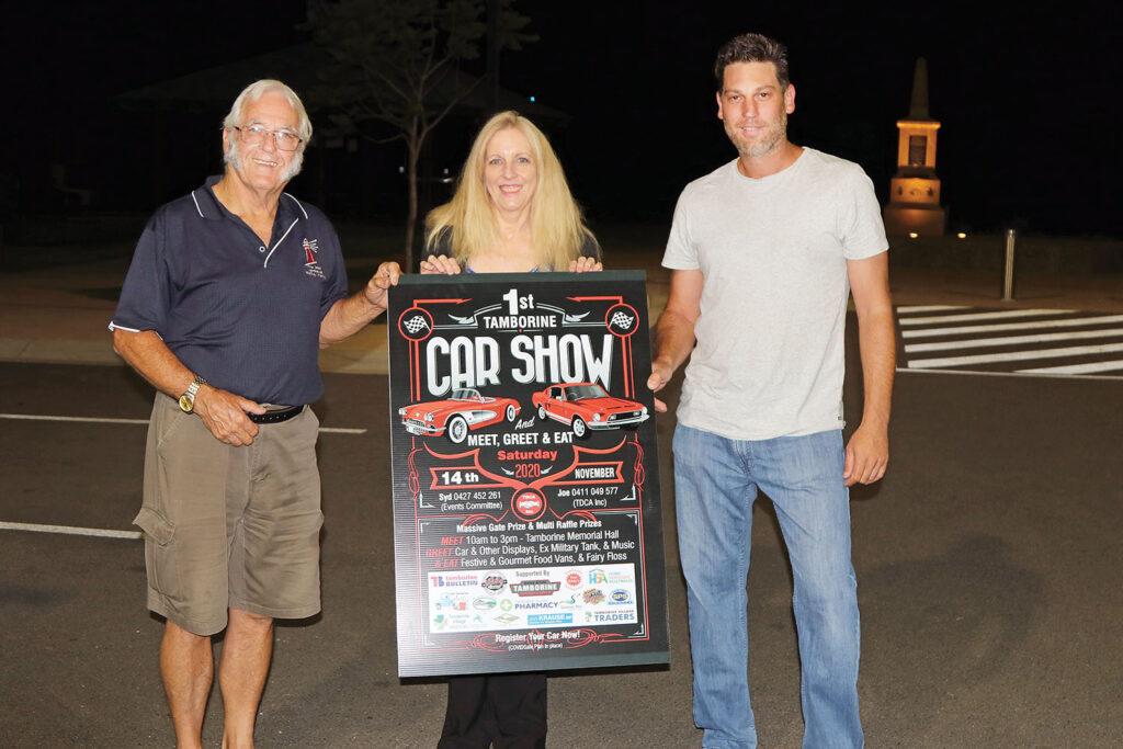 Syd, Kerri & Joe - Car Show Organisers