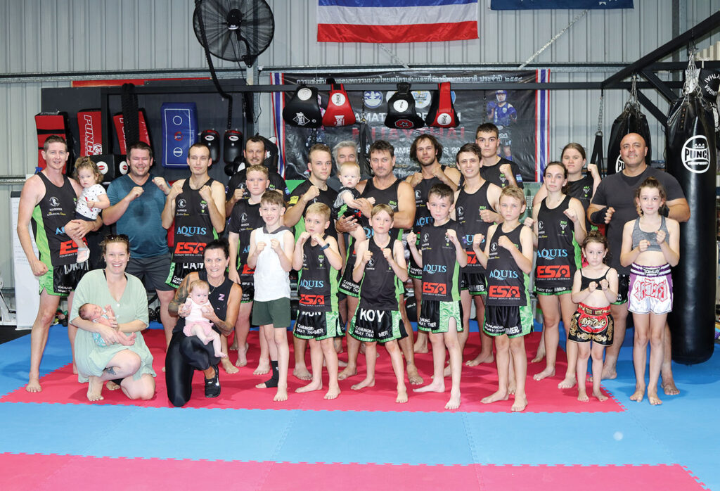 Grunt Fitness Muay Thai's Members at Tamborine