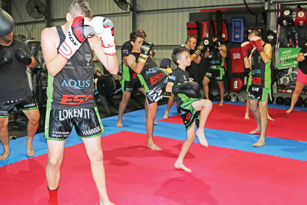 Grunt Fitness Muay Thai at Tamborine