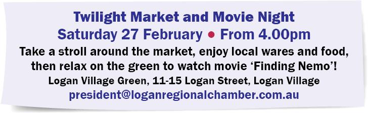Twilight Market and Movie Night
