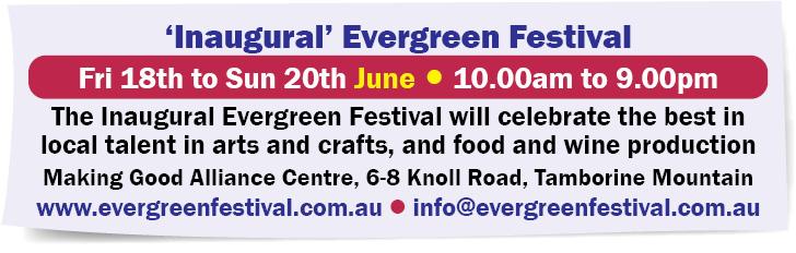 'Inaugural' Evergreen Festival