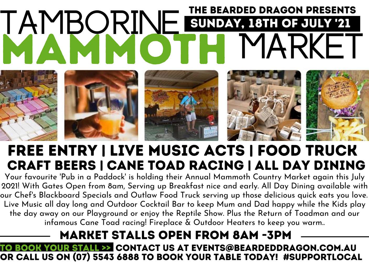 Annual Tamborine Mammoth Market