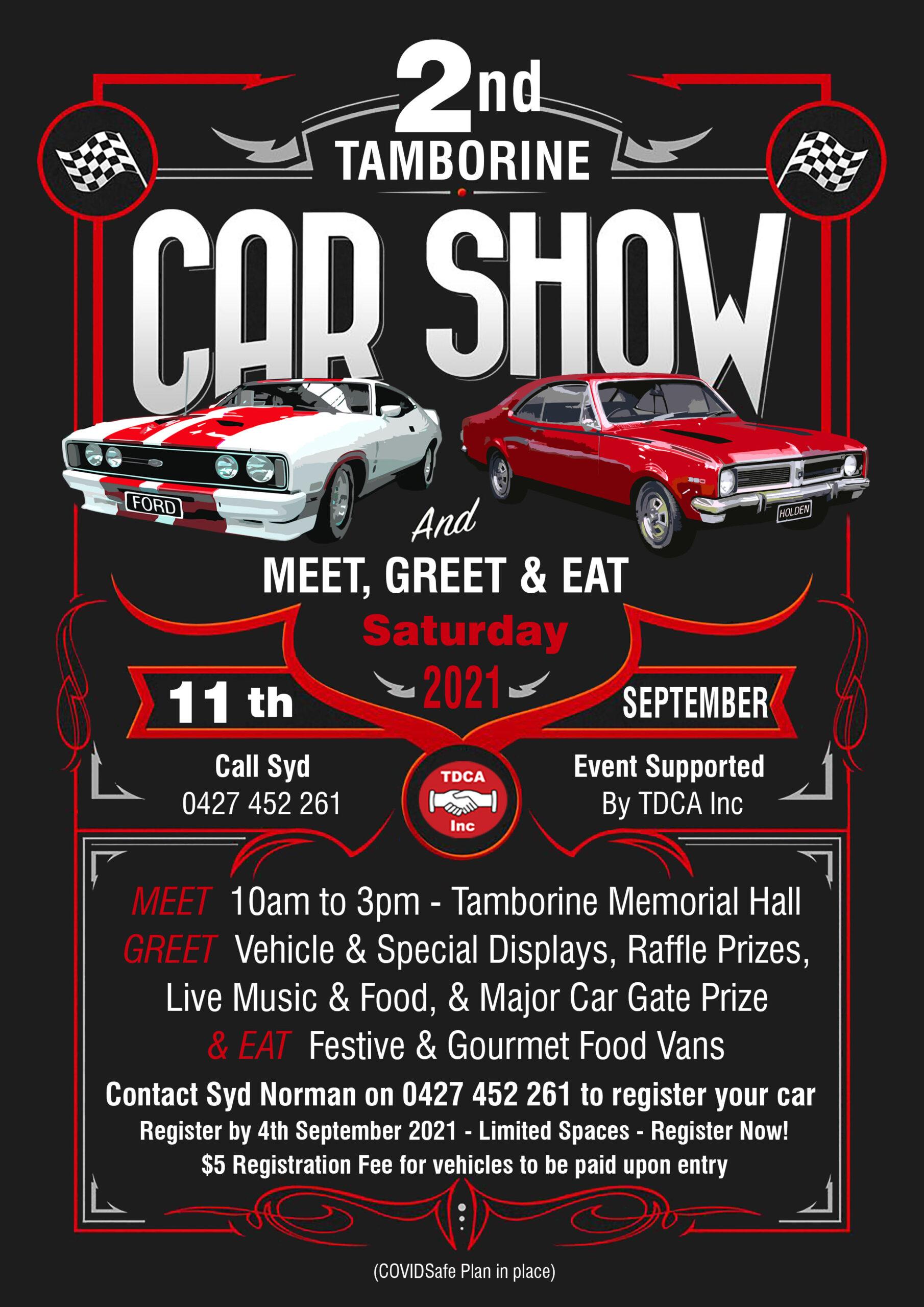 Tamborine's 2nd Annual Car Show