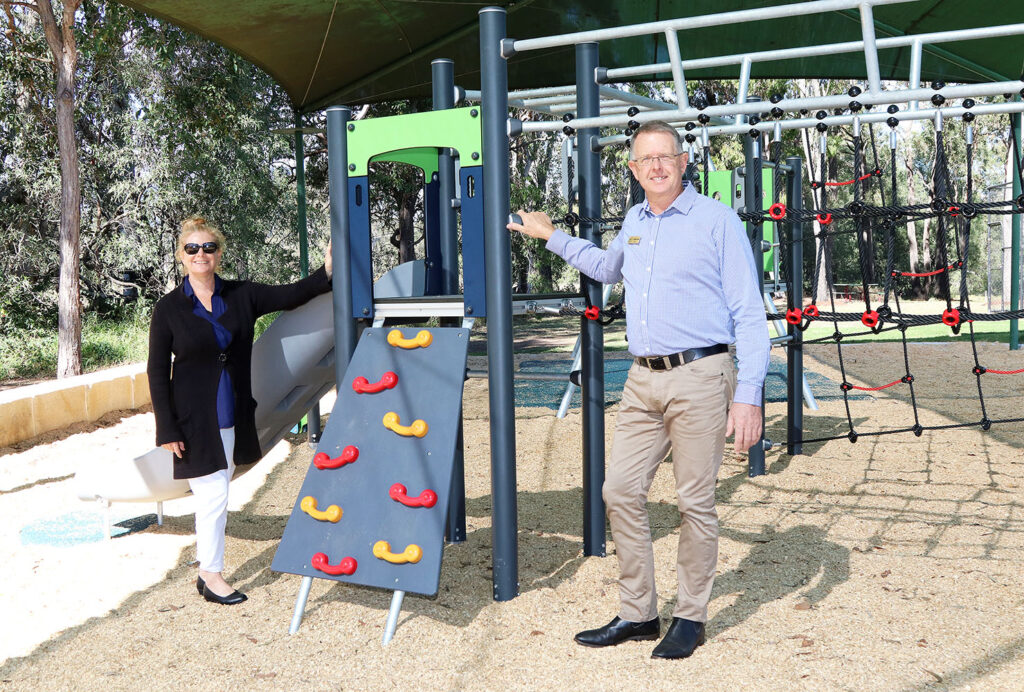New Tamborine Memorial Hall Playground equipment