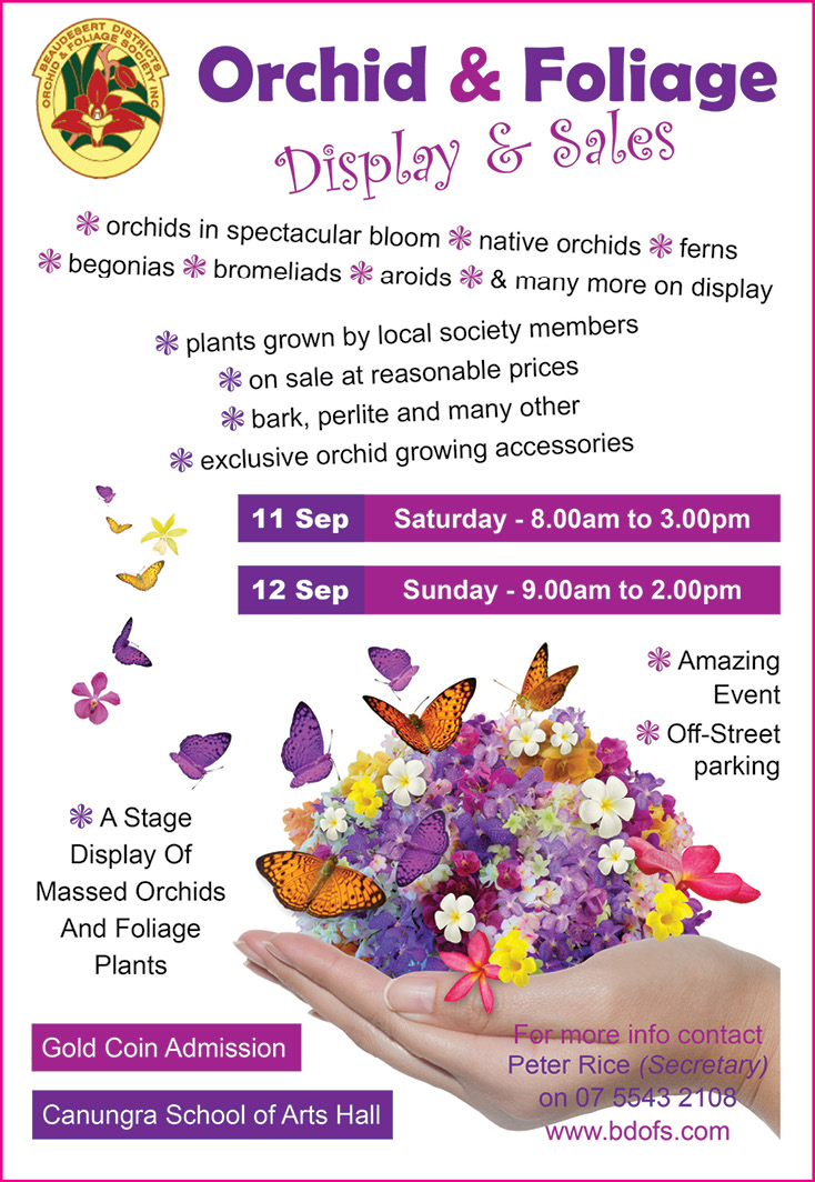 Orchid & Foliage Display & Sales