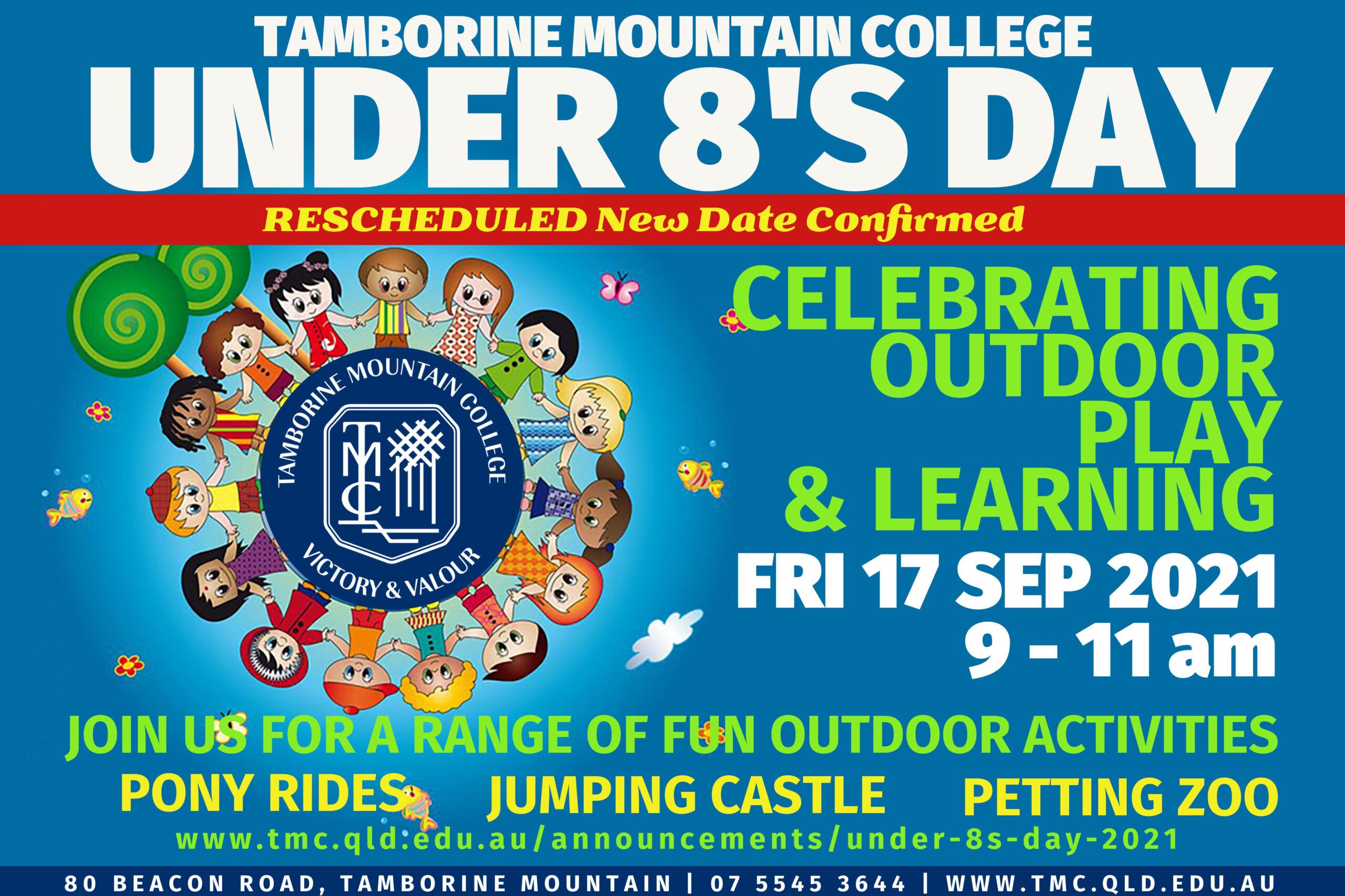 Tamborine Mountain College Under 8s Day