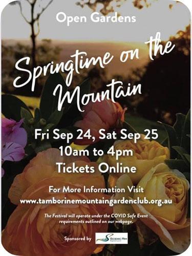 Springtime On The Mountain 2021