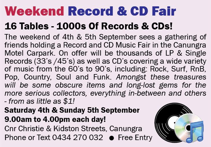 Weekend Record & CD Fair