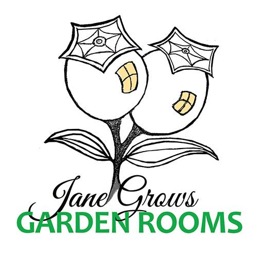 Jane Grows Garden Rooms